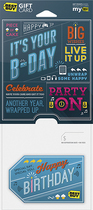 Best Buy GC - $15 It's Your B-Day Gift Card - Multi