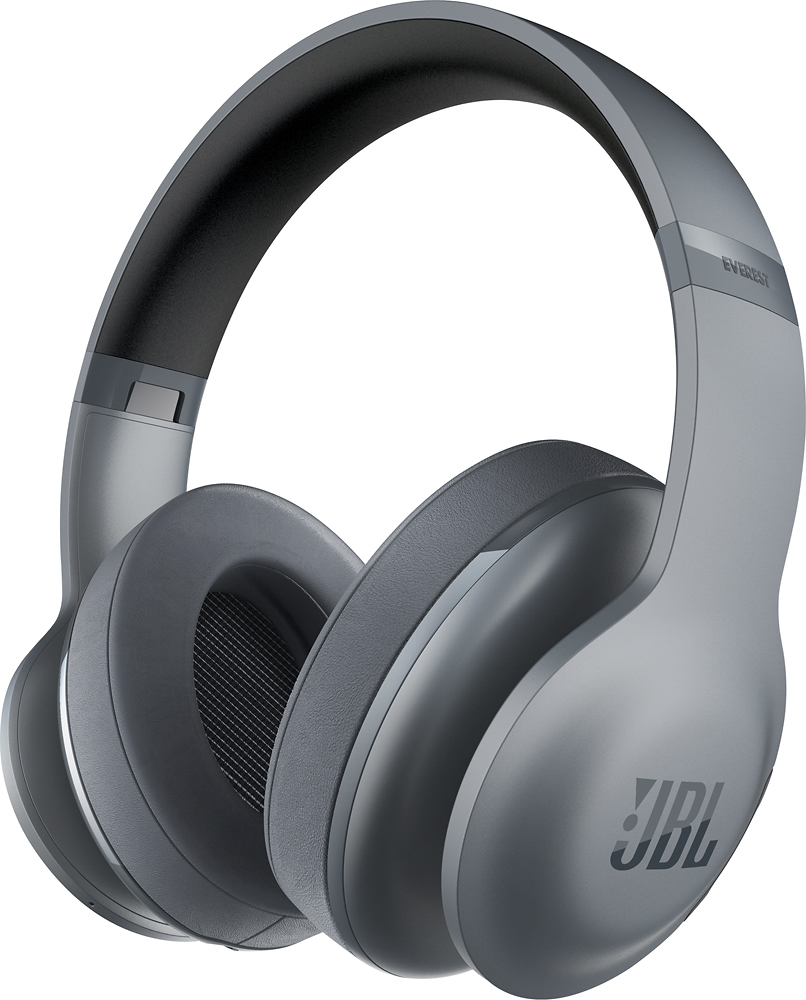 site jbl everest  wireless over the ear headphones gray p