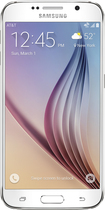 Samsung - Galaxy S6 4G with 128GB Memory Cell Phone - White Pearl (AT&T)