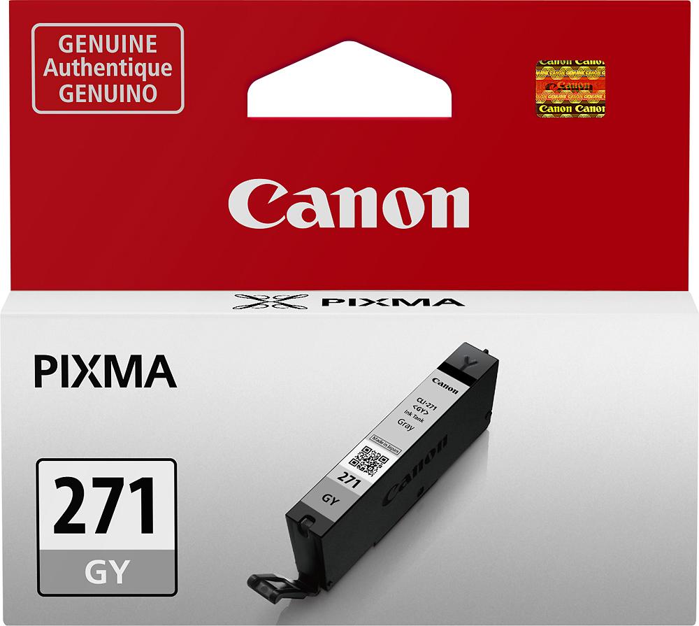 Canon - Cli-271 Ink Cartridge - Gray 4405010