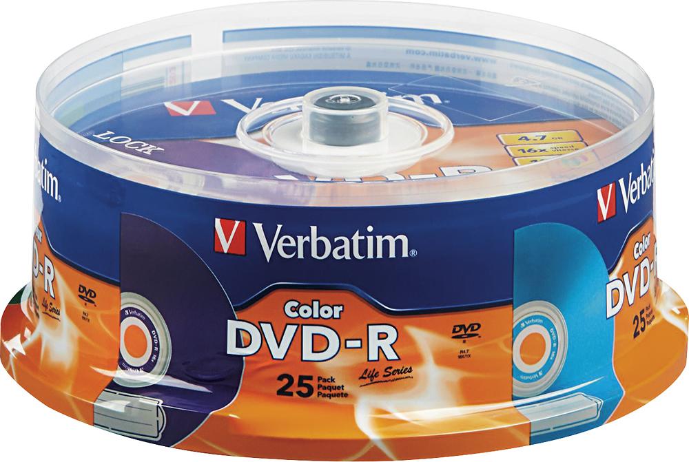 Verbatim - 16x Dvd-r Discs  - Multi