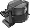 Black & Decker - Double Flip Waffle Maker - Black