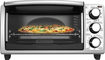 Black & Decker - 4-Slice Toaster Oven - Silver