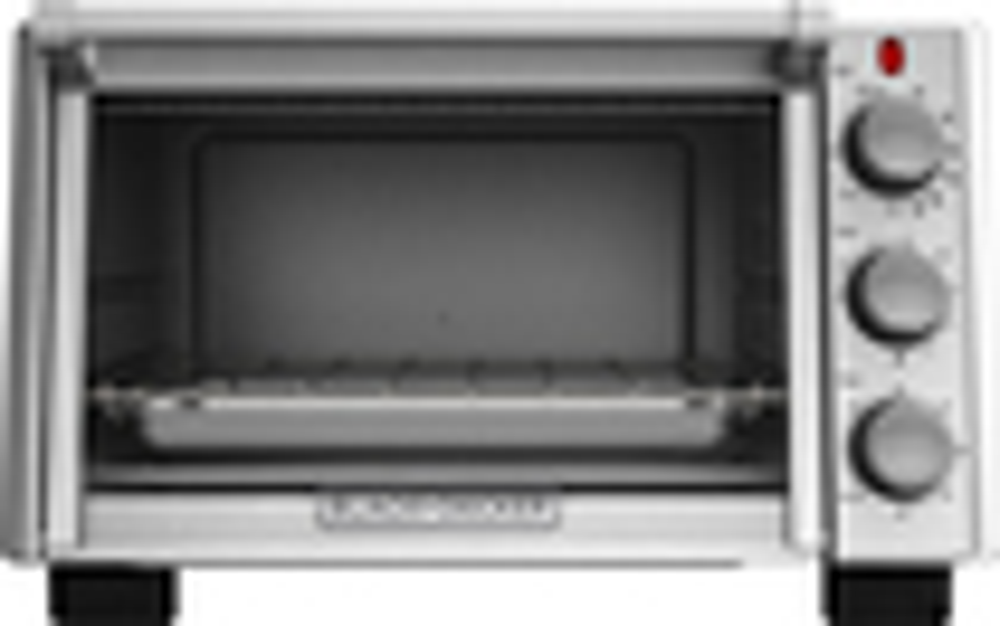 Black & Decker - 6-slice Toaster Oven - Silver 4413510