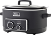 Ninja - 6-Quart 3-in-1 Cooking System - Black