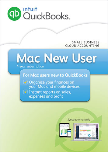 QuickBooks for Mac New User 2016 Mac|iOS|Android INT940800F038