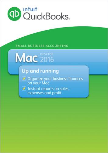 QuickBooks for Mac Desktop 2016 Mac INT940800F033