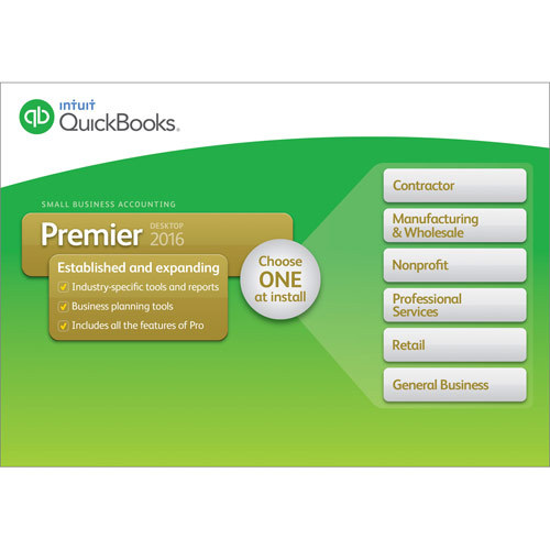 QuickBooks Premier Desktop 2016 Windows INT940800F030