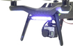 Polarpro - Led Lighting Set For 3dr Solo Drones - Black