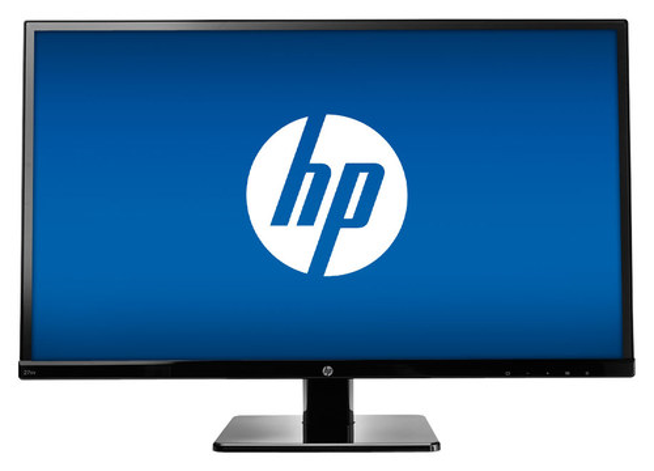 HP - 27 IPS LED HD Monitor - Black
