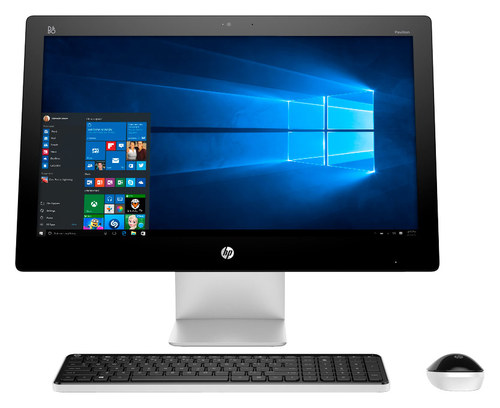 HP - Pavilion 23 Touch-Screen All-In-One - Intel Core i3 - 4GB Memory - 1TB Hard Drive - White