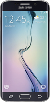Samsung - Galaxy S6 edge 4G LTE with 128GB Memory Cell Phone - Black Sapphire (Verizon Wireless)