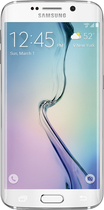 Samsung - Galaxy S6 edge 4G LTE with 128GB Memory Cell Phone - White Pearl (Verizon Wireless)