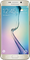 Samsung - Galaxy S6 edge with 64GB Memory Cell Phone - Gold (Sprint)