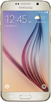 Samsung - Galaxy S6 with 64GB Memory Cell Phone - Gold Platinum (Sprint)