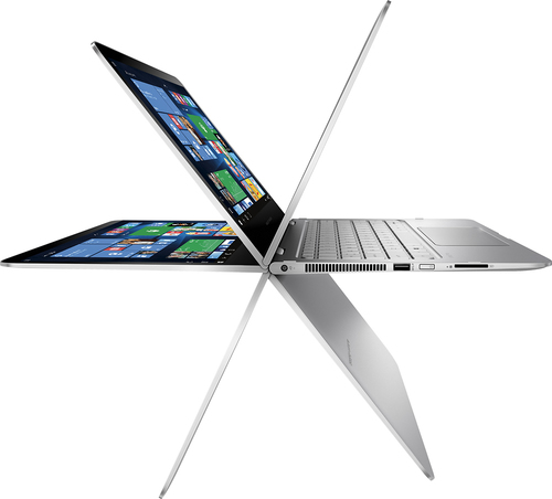 HP - Geek Squad Certified Refurbished 2-in-1 13.3 Touch-Screen Laptop - Intel Core i7 - 8GB Memory - 256GB SSD - Natural Silver