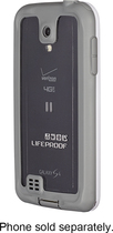 LifeProof - nüüd Case for Samsung Galaxy S 4 Cell Phones - White