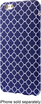 Dynex - Soft Shell Case For Apple Iphone 6s Plus - Blue\/white