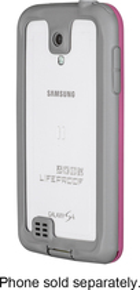 LifeProof - nüüd Case for Samsung Galaxy S 4 Cell Phones - Magenta