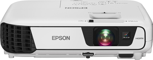 Epson - PowerLite Home Cinema 640 Svga 3LCD Projector - White
