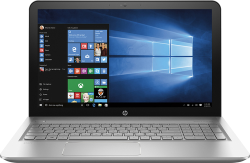 HP - Geek Squad Certified Refurbished Envy 15.6 Touch-Screen Laptop - AMD FX-Series - 6GB Memory - 1TB Hard Drive - Natural Silver