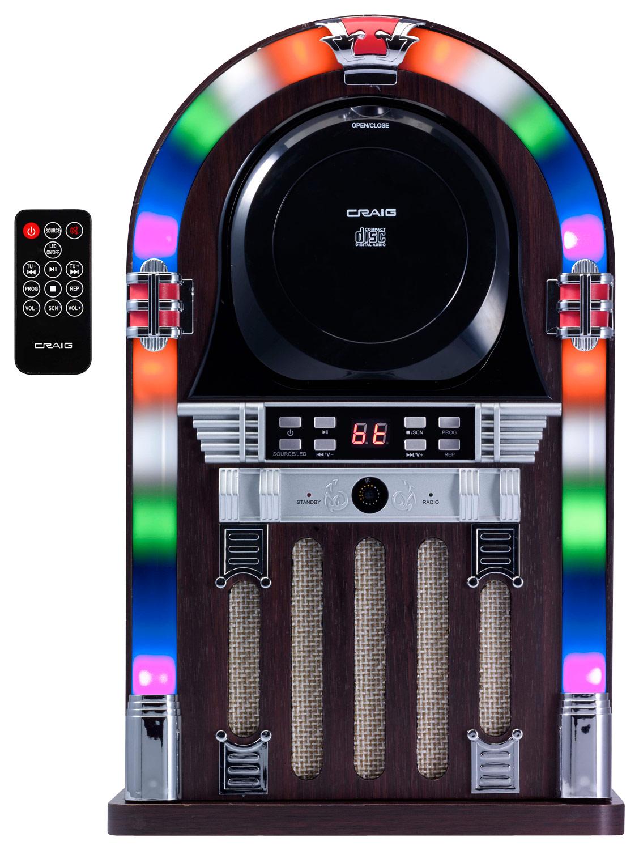 Craig - 4W Jukebox Speaker - Multi