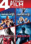 Fantastic Four/fantastic Four: Rise Of The Silver Surfer/elektra/daredevil [4 Discs] (dvd) 4436046