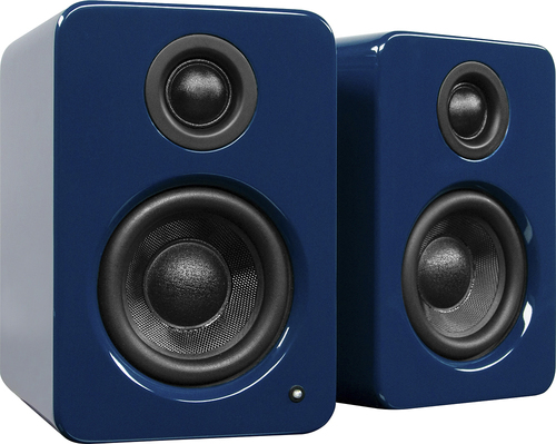 "Kanto YU2 3"" 2-Way Powered Desktop Speakers (Pair) Gloss Blue YU2GU"