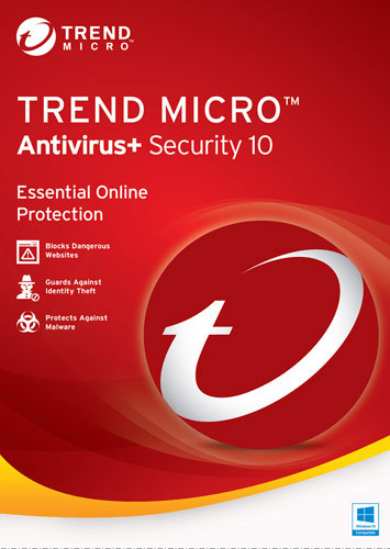 Antivirus+ Security 10 (1-User) (1-Year Subscription) Windows TRE021800G156
