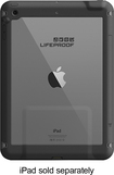 LifeProof - frē Case for Apple® iPad® Air - Black