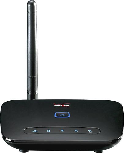 Verizon Wireless - Wireless Home Phone Connect System - Black