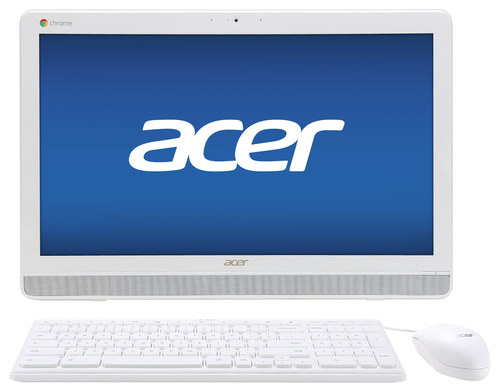 Acer - Chromebase 21.5 All-In-One - Nvidia Tegra K1 - 4GB Memory - 16GB Flash Memory - White
