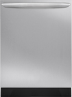 "Frigidaire - Gallery 24"" Tall Tub Built-In Dishwasher - Stainless-Steel"