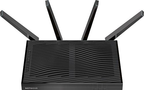 NETGEAR - Nighthawk X8 AC5300 Tri-Band Quad Stream Wireless-AC Router - Black