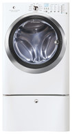 Electrolux - 4.3 Cu. Ft. 11-Cycle High-Efficiency Front-Loading Washer with Steam - White