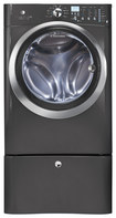 Electrolux - 4.3 Cu. Ft. 11-Cycle High-Efficiency Front-Loading Washer with Steam - Titanium
