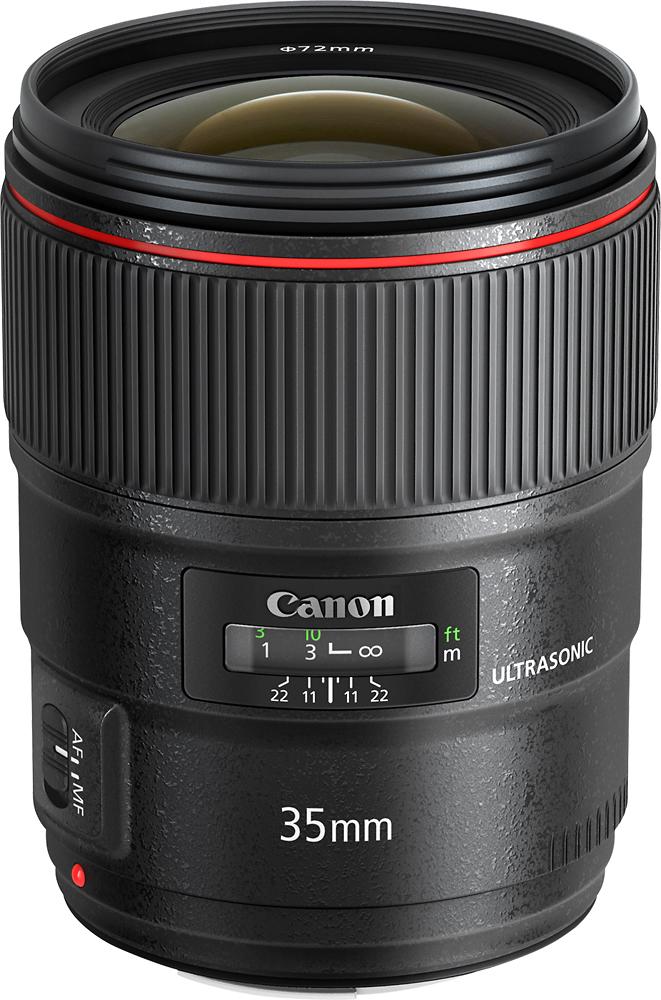 Canon - Ef35/1.4l Ii Usm Wide-angle Lens - Black
