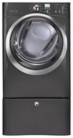 Electrolux - 8.0 Cu. Ft. 11-Cycle Electric Dryer with Steam - Titanium