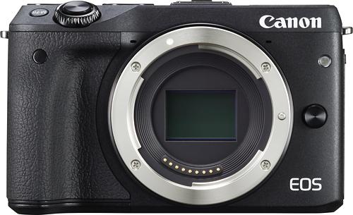 Canon - EOS M3 Mirrorless Camera (Body Only) - Black
