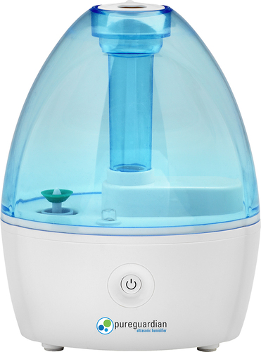 PureGuardian - Ultrasonic Cool Mist Humidifier - Blue/White