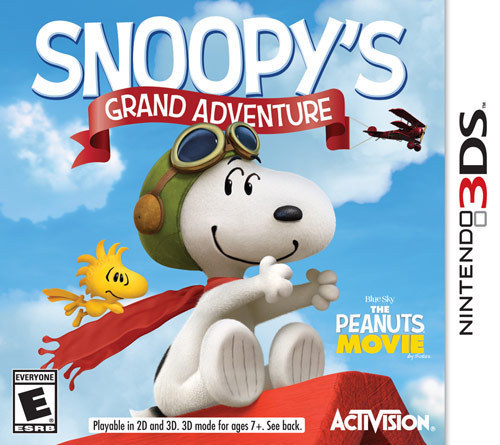 Snoopy's Grand Adventure - Nintendo 3DS