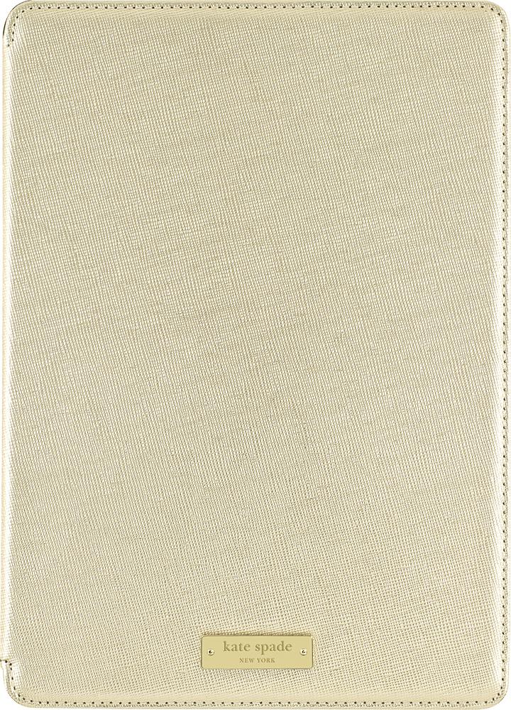 kate spade new york Folio Case for Apple® iPad® Air 2 Metallic Gold KSIPD-010-MGLD