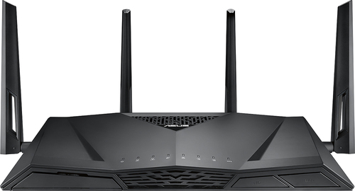 Asus - AC3100 Wireless Router with Print Server - Black