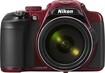 Nikon - Coolpix P600 16.1-Megapixel Digital Camera - Red