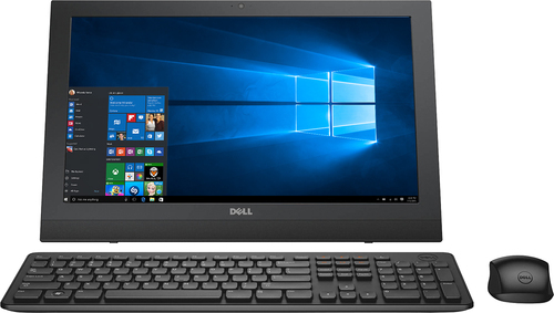 Dell - Inspiron 19.5 Portable Touch-Screen All-In-One - Intel Pentium - 4GB Memory - 500GB Hard Drive - Black