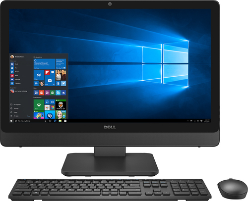 Dell - Inspiron 23.8 Touch-Screen All-In-One - Intel Core i5 - 12GB Memory - 1TB Hard Drive - Silver/Black
