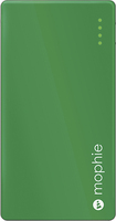 mophie - Juice Pack Powerstation Mini External Battery for Most USB-Enabled Devices - Green