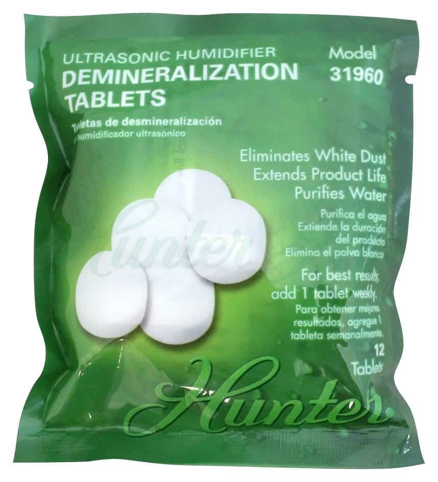 Ultrasonic Humidifier Demineralization Tablets 4476206