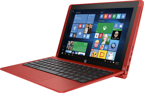 "HP 10-n114dx Pavilion x2 10.1"" Tablet 32GB With Keyboard Sunset Red"