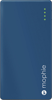 mophie - Juice Pack Powerstation Mini External Battery for Most USB-Enabled Devices - Blue
